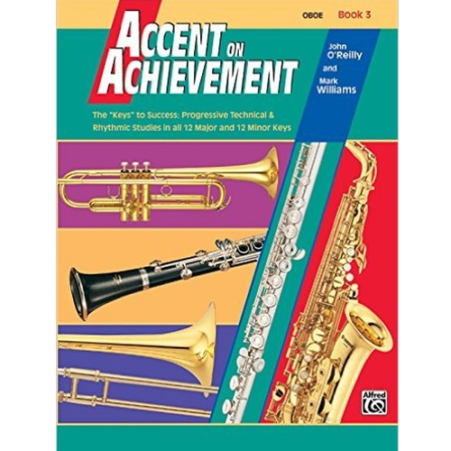 Accent on Achievement Book 3 Oboe