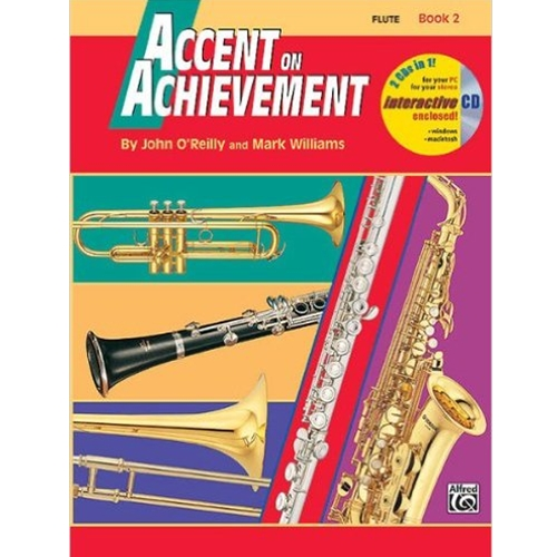 Accent on Achievement Book 2 Flute