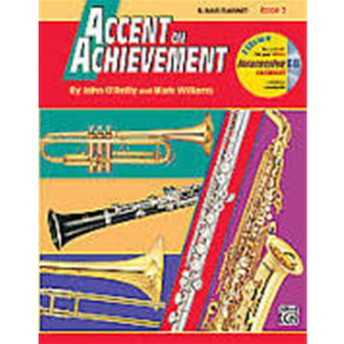 Accent on Achievement Book 2 B-flat Bass Clarinet