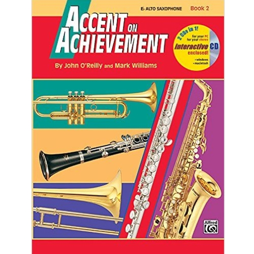 Accent on Achievement Book 2 E-flat Alto Saxophone