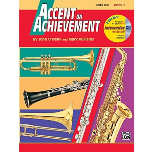 Accent on Achievement Book 2 Horn in F