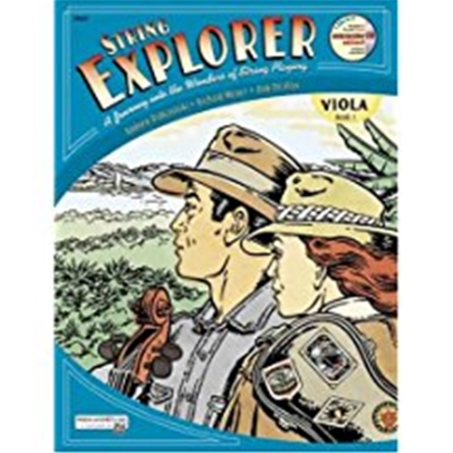 String Explorer Book 1 Viola