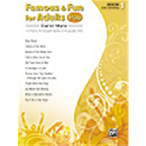 Famous & Fun for Adults: Pop, Book 1 [Piano]