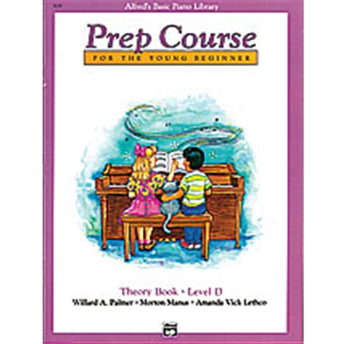 Alfred  Prep Course, Theory Book Level D
