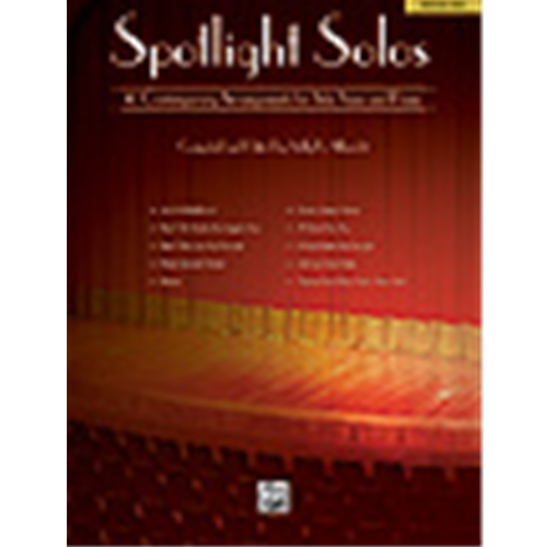 Spotlight Solos [with Piano] Medium Hig