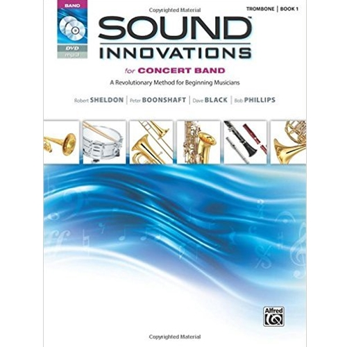 Sound Innovations for Concert Band Book 1, Trombone