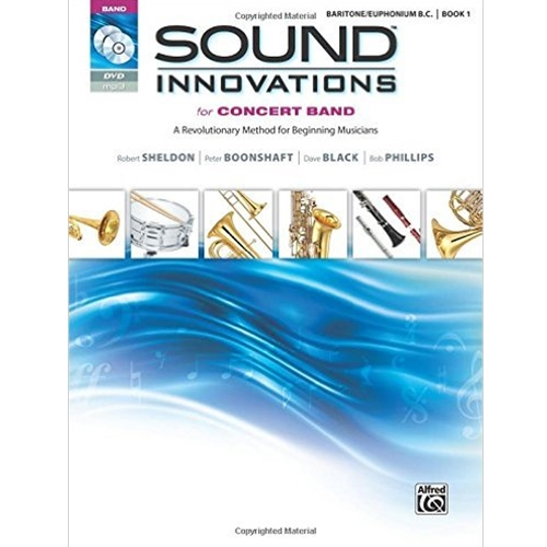 Sound Innovations for Concert Band Book 1 Baritone B.C.