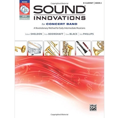 Sound Innovations for Concert Band Book 2 B-flat Clarinet