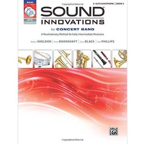 Sound Innovations for Concert Band Book 2 E-flat Alto Saxophone