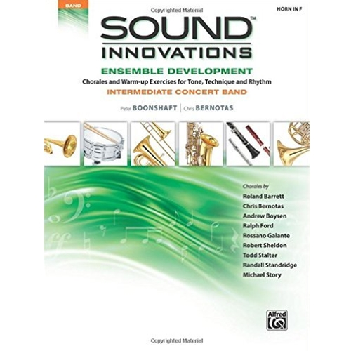 Sound Innovations for Concert Band: Ensemble Development Horn in F