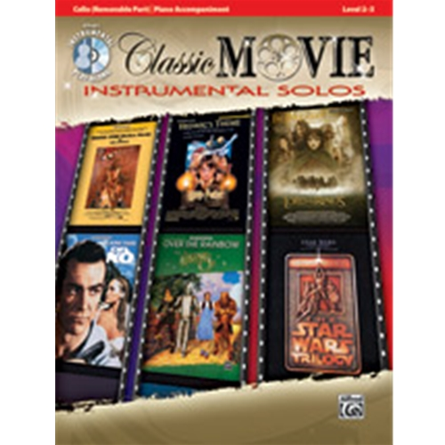 Classic Movie Instrumental Solos for Strings [Cello]