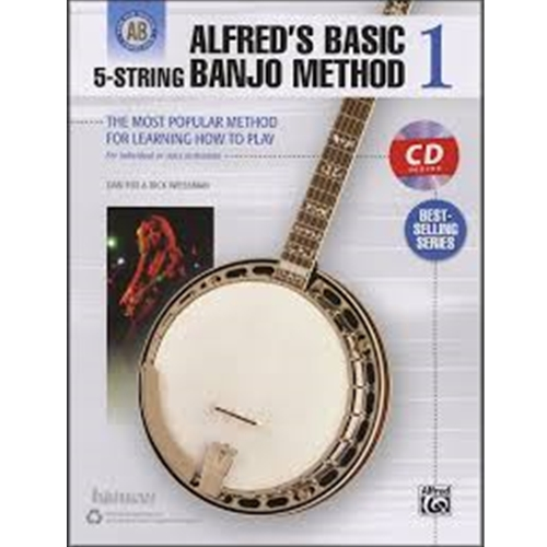 Alfred's Basic 5-String Banjo Method 1 [Banjo]