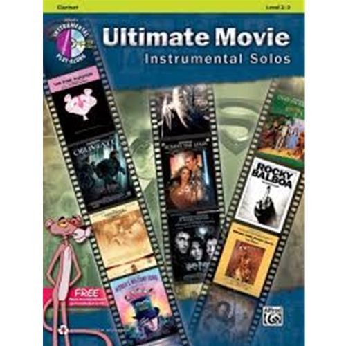 Ultimate Movie Instrumental Solos [Clarinet]