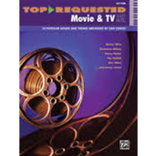 Top-Requested Movie & TV Sheet Music - Easy Piano