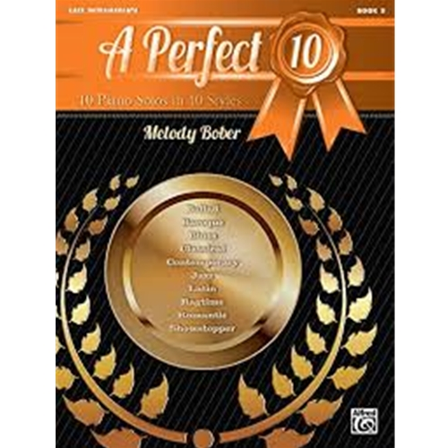 A Perfect 10, Book 5 [Piano] [NFMC]
