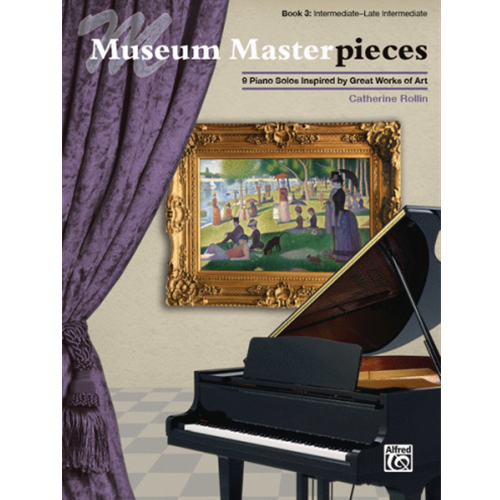 Museum Masterpieces, Book 3 [Piano] [NFMC]