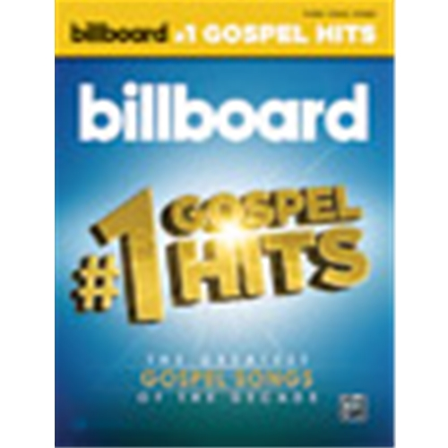 Billboard's #1 Gospel Hits [Piano/Vocal/Guitar]