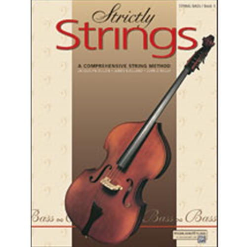 Strictly Strings Book 1 Bass