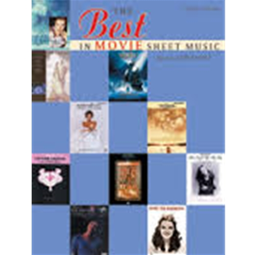The Best in Movie Sheet Music - Easy Piano