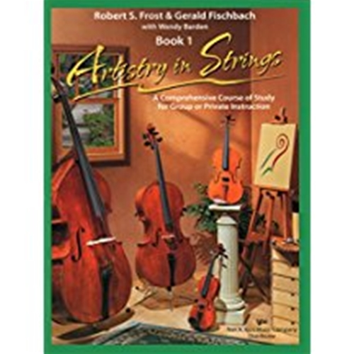 Artistry in Strings Book 1 w/CD Cello ARTISTRY S