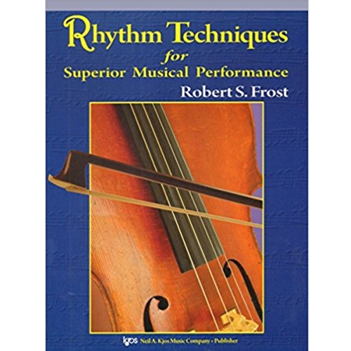 Rhythm Techniques for Superior Musical Performance Violin STRING COL