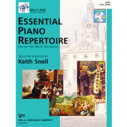 ESSENTIAL PIANO REPERTOIRE-LEVEL 7-BOOK&CD NAK PA LIB