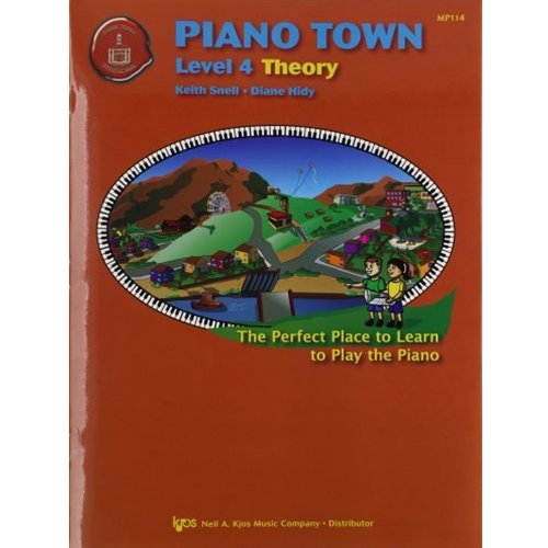 Piano Town Theory - Level 4 PIANO TOWN