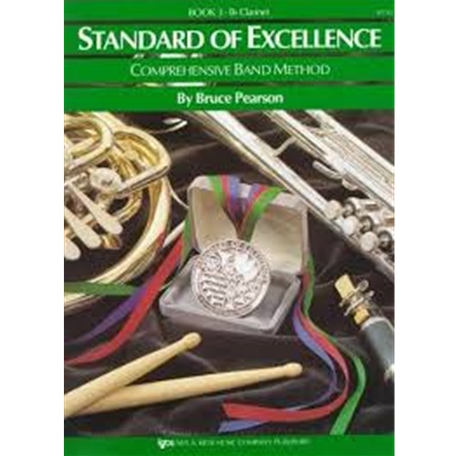STANDARD OF EXCELLENCE BK 3, CLARINET SOE