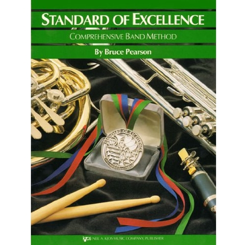 STANDARD OF EXCELLENCE BK 3, DRUMS/MALLET PERC SOE