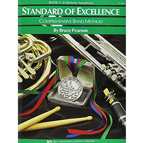 STANDARD OF EXCELLENCE BK 3, BARI SAX SOE