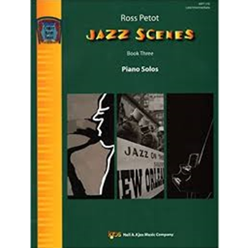 Jazz Scenes Book 3 [NFMC] OTHER PA S