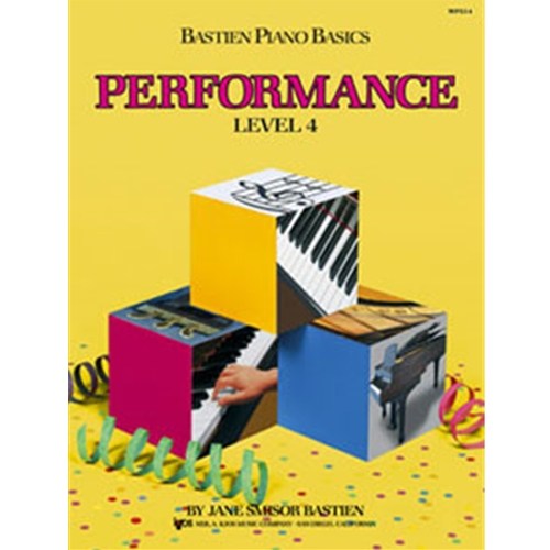 Performance Book Level 4 BASTIEN PA