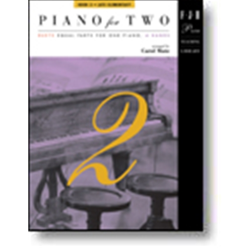 Piano for Two, Book 3 Piano