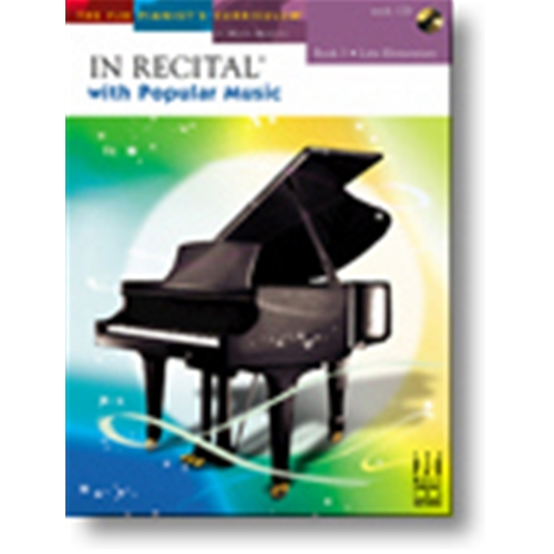 In Recital® with Popular Music, Book 3 Piano