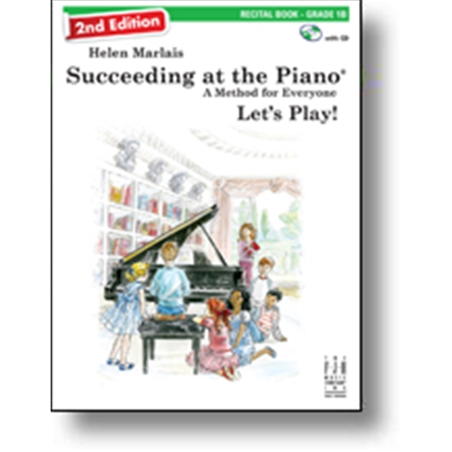 Helen Marlais' Succeeding at the Piano Recital Book - Level 1 (with CD) Piano