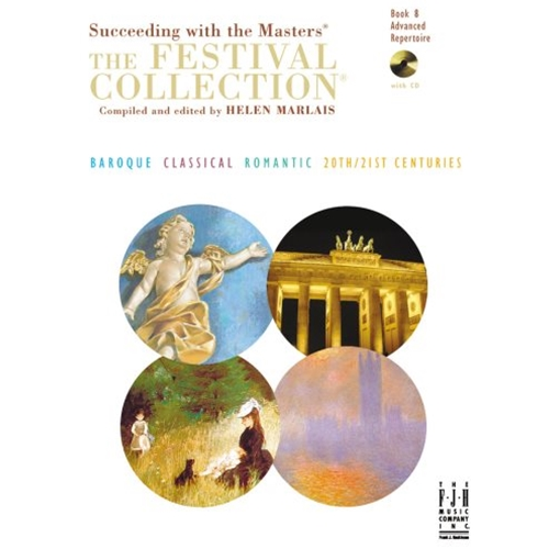 The Festival Collection, Book 8 (with 2 CD's) [NFMC] Piano