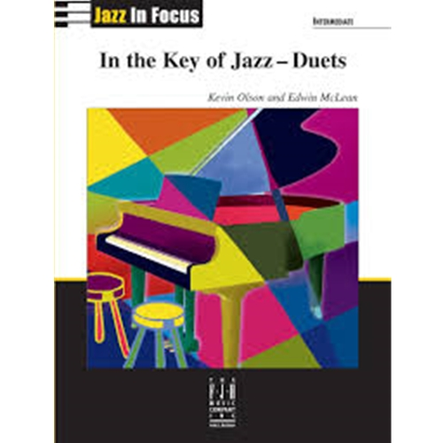 In the Key of Jazz - Duets Piano
