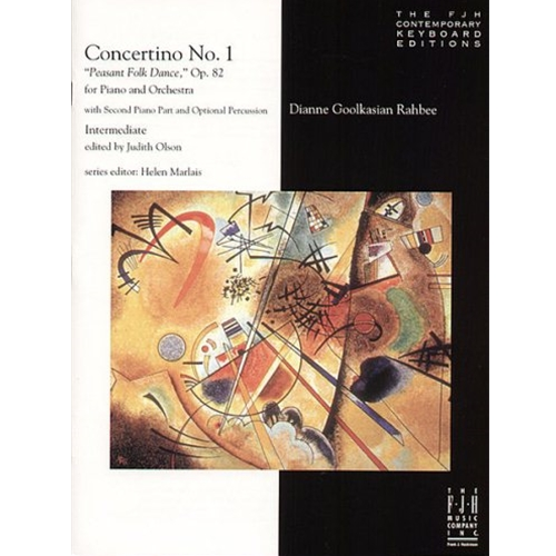 "Concertino No. 1 ""Peasant Folk Dance,"" Op. 82 for Piano and Orchestra  (NFMC) Piano"
