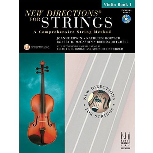 New Directions For Strings Violin Book 1 Violin