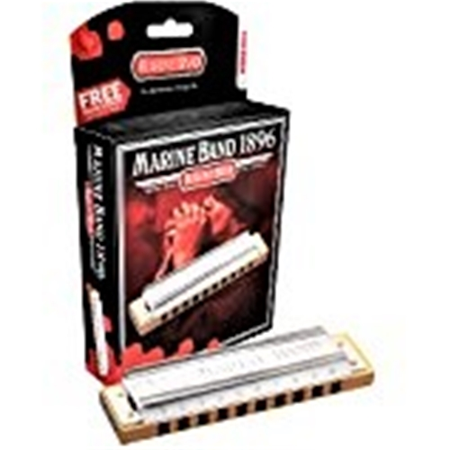 Hohner Marine Band Diatonic Harmonica Key of C