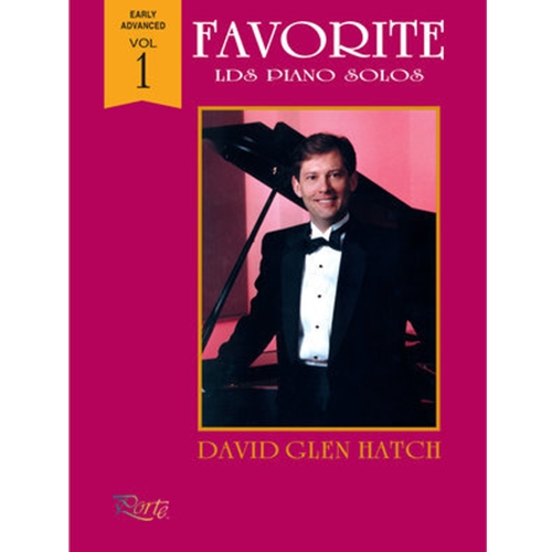 Favorite LDS Piano Solos Vol 1 Piano Solo