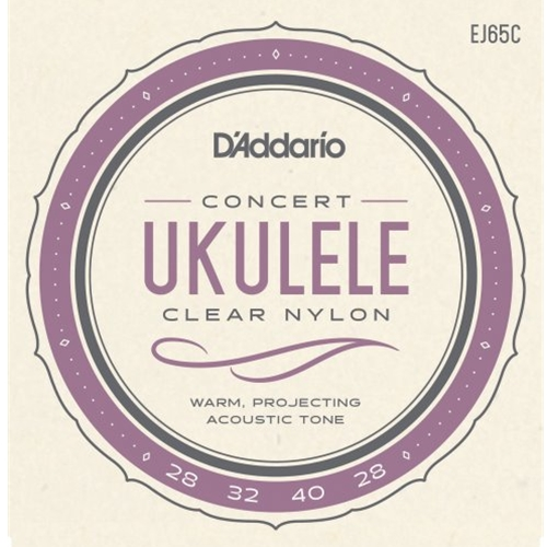 D'Addario Pro-Arté Custom Extruded Nylon Ukulele Strings Concert