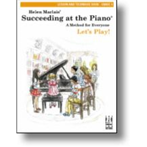 Helen Marlais Succeeding at the Piano Lesson and Technique Book - Level 4