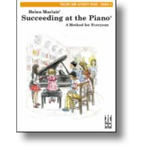 Helen Marlais' Succeeding at the Piano Theory and Activity Book - Level 4