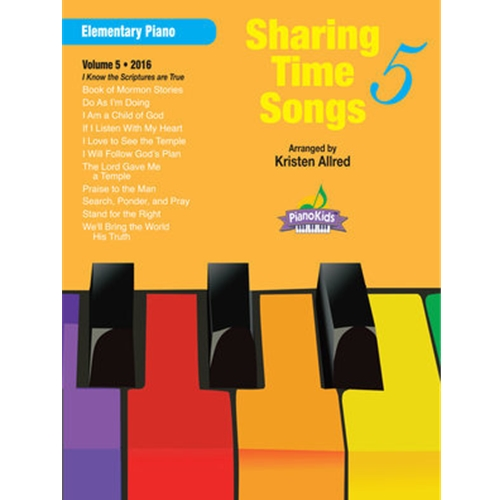 Sharing Time Songs Vol.5 Elem. Piano